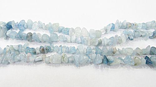 Cascalho natural Aquamarine - CAS036
