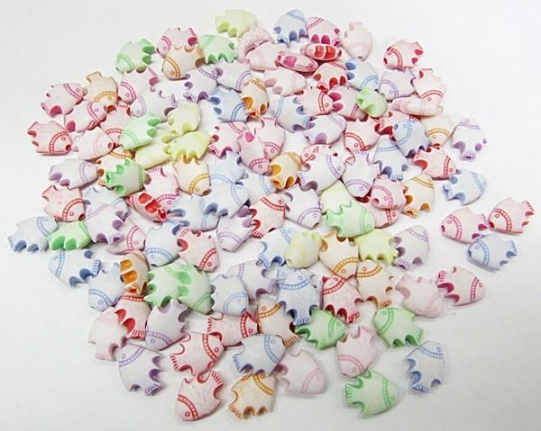 Conta Plastica Colorida Peixinhos (Atacado e Varejo) - COP028