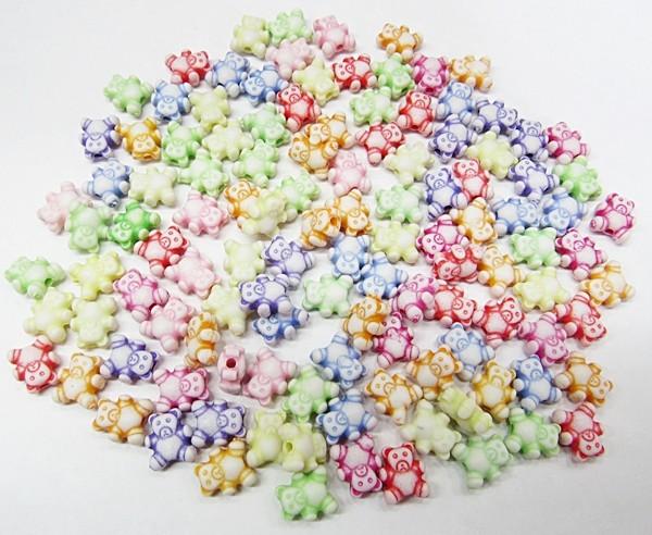 Conta Plastica Colorida Ursinhos (Atacado e Varejo) - COP027