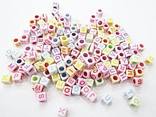 Conta Plastica Cubo Letras Diversas (Atacado e varejo) - COP009