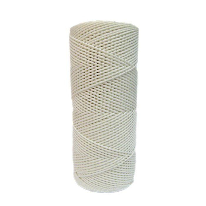 Cordão c/ nylon branco (10mts)- CDN002