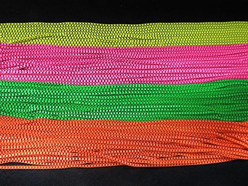 Correntes Quadrada Coloridas Neon - COAL013
