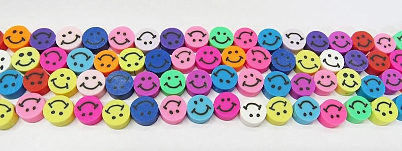 Fio De Fimo Smiles Coloridos - FIMO09