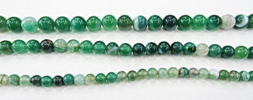 Fio De Pedra Natural Agata Verde - PDN287