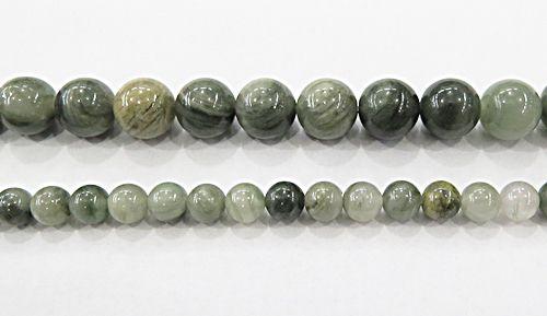 Fio De Pedra Natural Jade Verde (N°06 e10mm) - PDN254