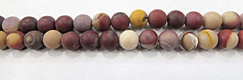 Fio De Pedra Natural Jasper Mookaita Fosca N°08 - PDN259
