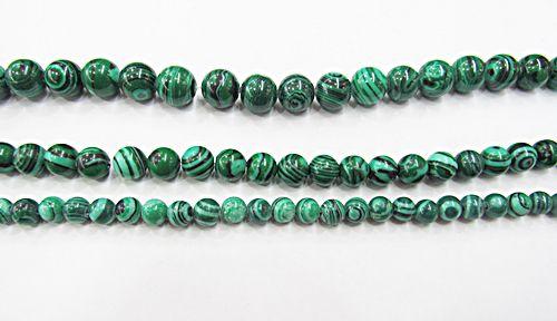 Fio De Pedra Natural Malaquita Verde - PDN285