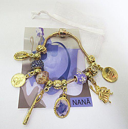 Kit Pulseira Nanã Dourada - PUL076