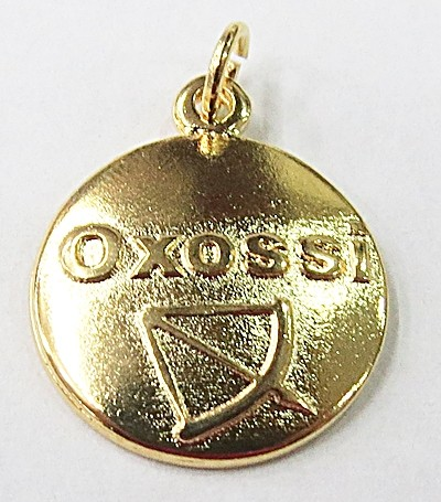MEDALHA DE ORIXA(OXOSSI)-MDO006