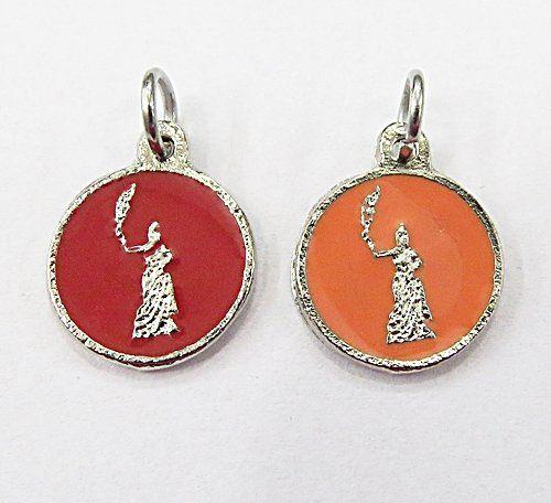 Medalha Niquel Resinada Orixa Egunitá - MDO048