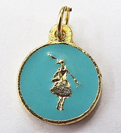 Medalha Resinada Dourada Logum EdÊ - MDO019