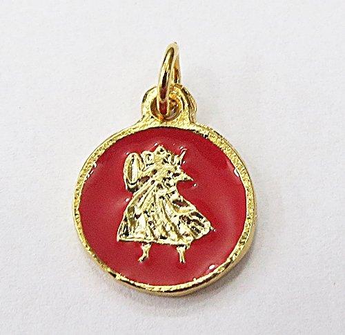Medalha Resinada Dourada Obá - MDO041