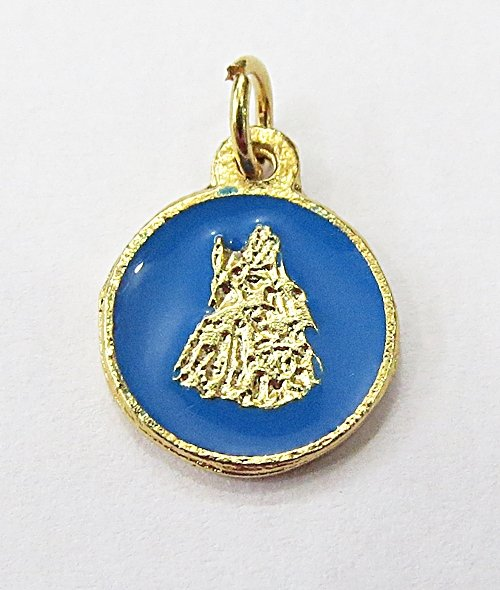 Medalha Resinada Dourada Ogunté - MDO043