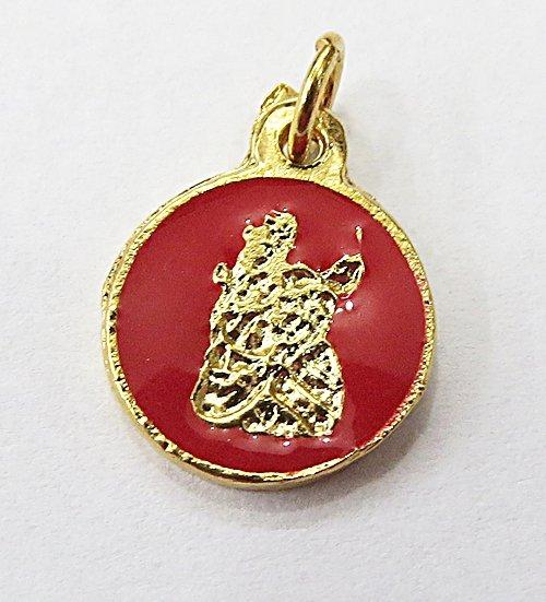 Medalha Resinada Dourada Onira - MDO035