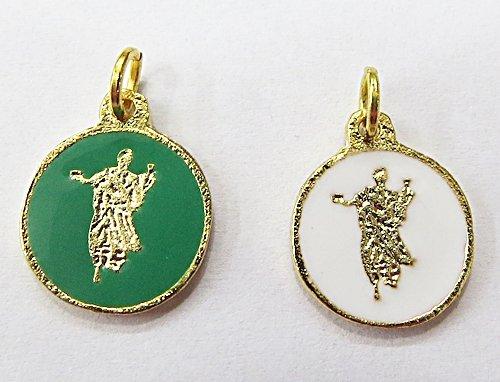 Medalha Resinada Dourada Ossaim - MDO029