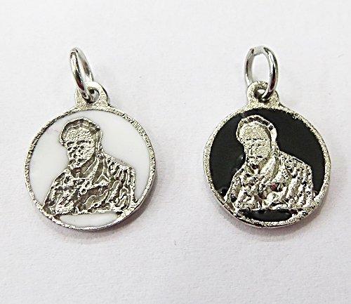 Medalha Resinada Niquel Preto Velho - MDO014