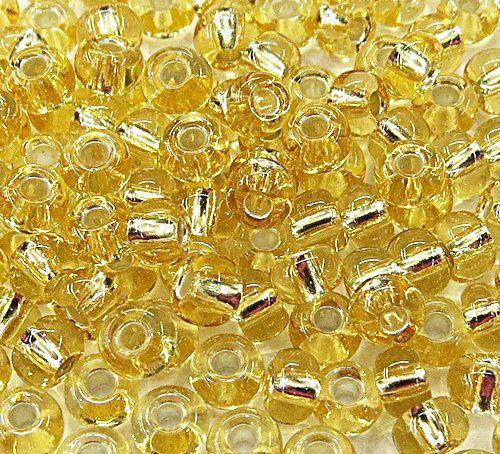 Miçanga chinesa Dourada metalizado (50grs)- MIÇ007
