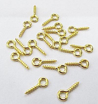 Parafuso Dourado para Rolha - PRF001