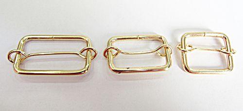 Passadores  De Metal Dourado I Para Bolsas - APB001
