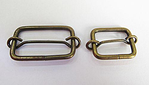 Passadores  De Metal Ouro Velho I Para Bolsas - APB003