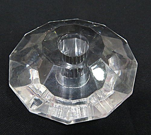 Passante Acrilico Transp. Disco Achatado GG - PAC023