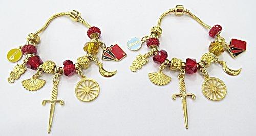 Pulseira Pandora Dourada De Orixa 19Cm (Cigana) - PUL057