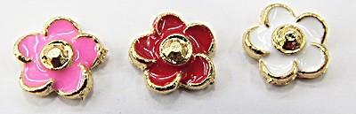 Secrets P/Capsula Pandora Flor Dourada - CPN052