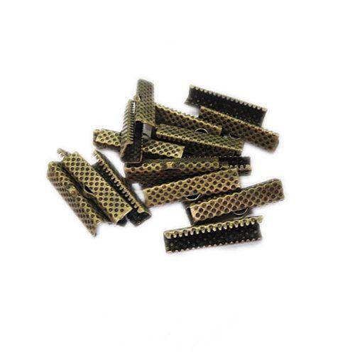 Terminal de garrinha ouro velho 25mm (Atacado/ Varejo) - TGO006