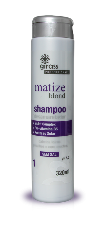 Shampoo Matize Blond Girass 320ml