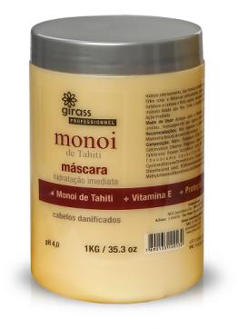 Mascara Nutricao Girass Monoi Tahiti 1000g