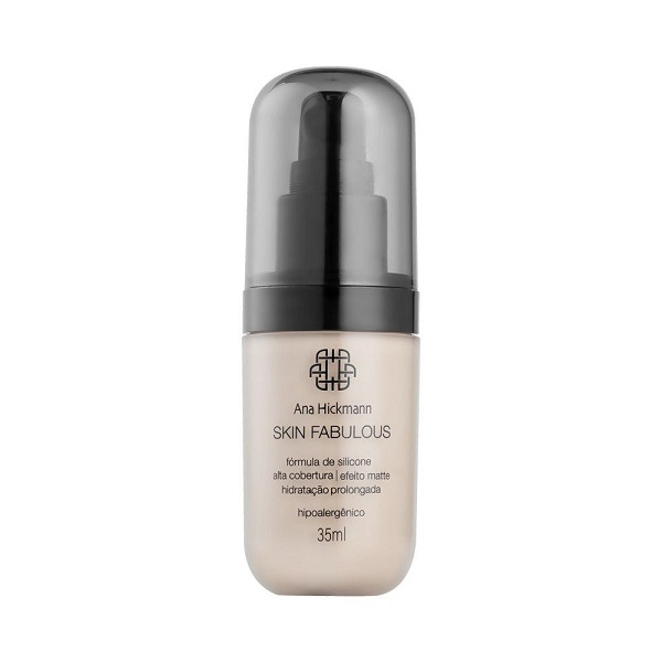 Ana Hickmann Base Skin Fabulous 35ml Claro N 02