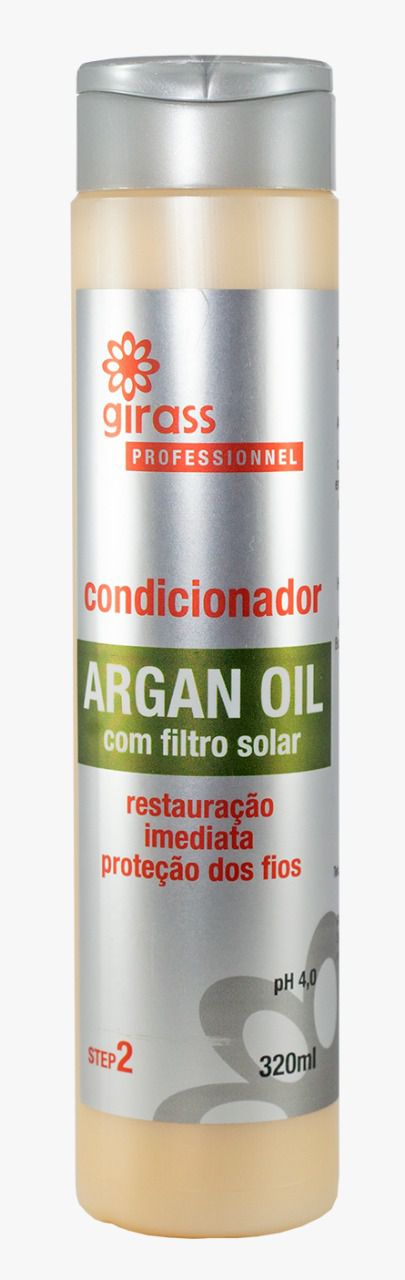 Condicionador Argan Oil Girass 320ml