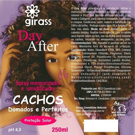 Day After Cachos Girass 250ml