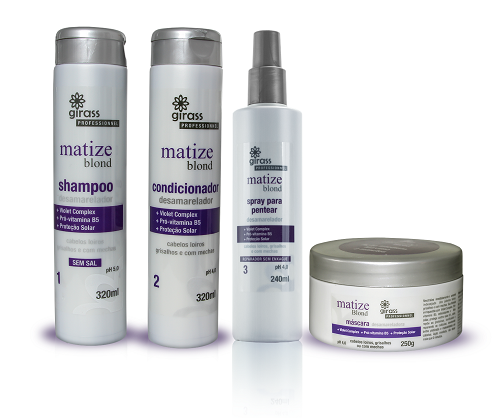 KIT MATIZE BLOND GIRASS- 4 PASSOS