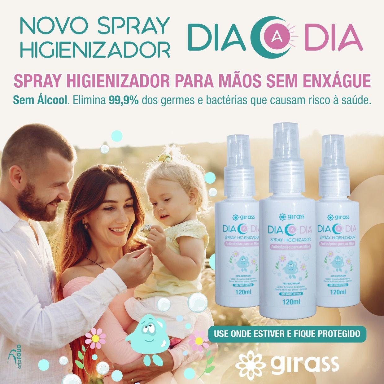 Spray Higienizador Girass 120ml