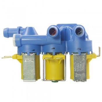 Válvula Tripla Lavadora Electrolux 127V 12 & 15Kg 64500221