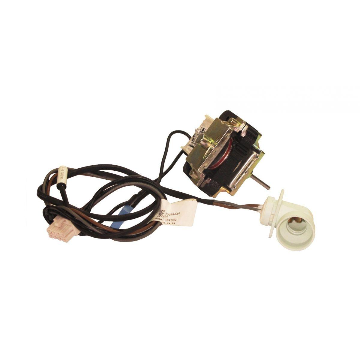 Ventilador Com Sensor E Soquete Lampada 8 Vias Dfi80 Di80X