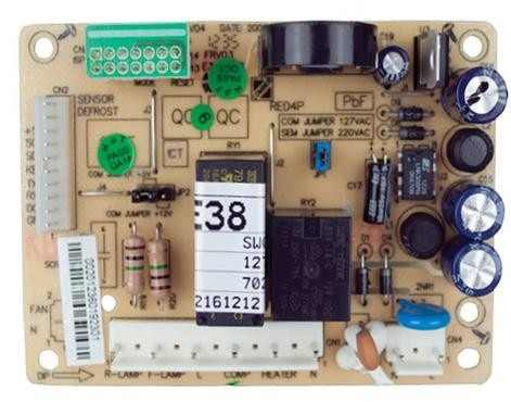 Placa De Potência Refrigerador Electrolux Rfe38 70200714