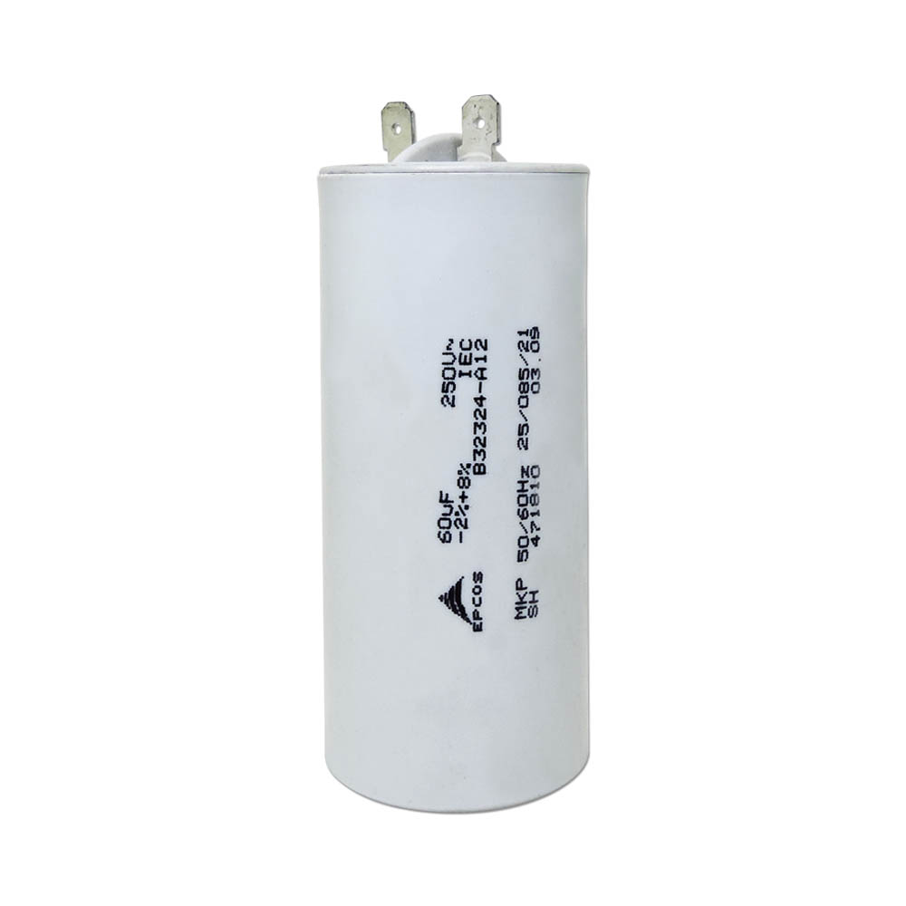 CAPACITOR 60UF 250VAC LAVADORA ELECTROLUX LTR08 LE08A LM08A