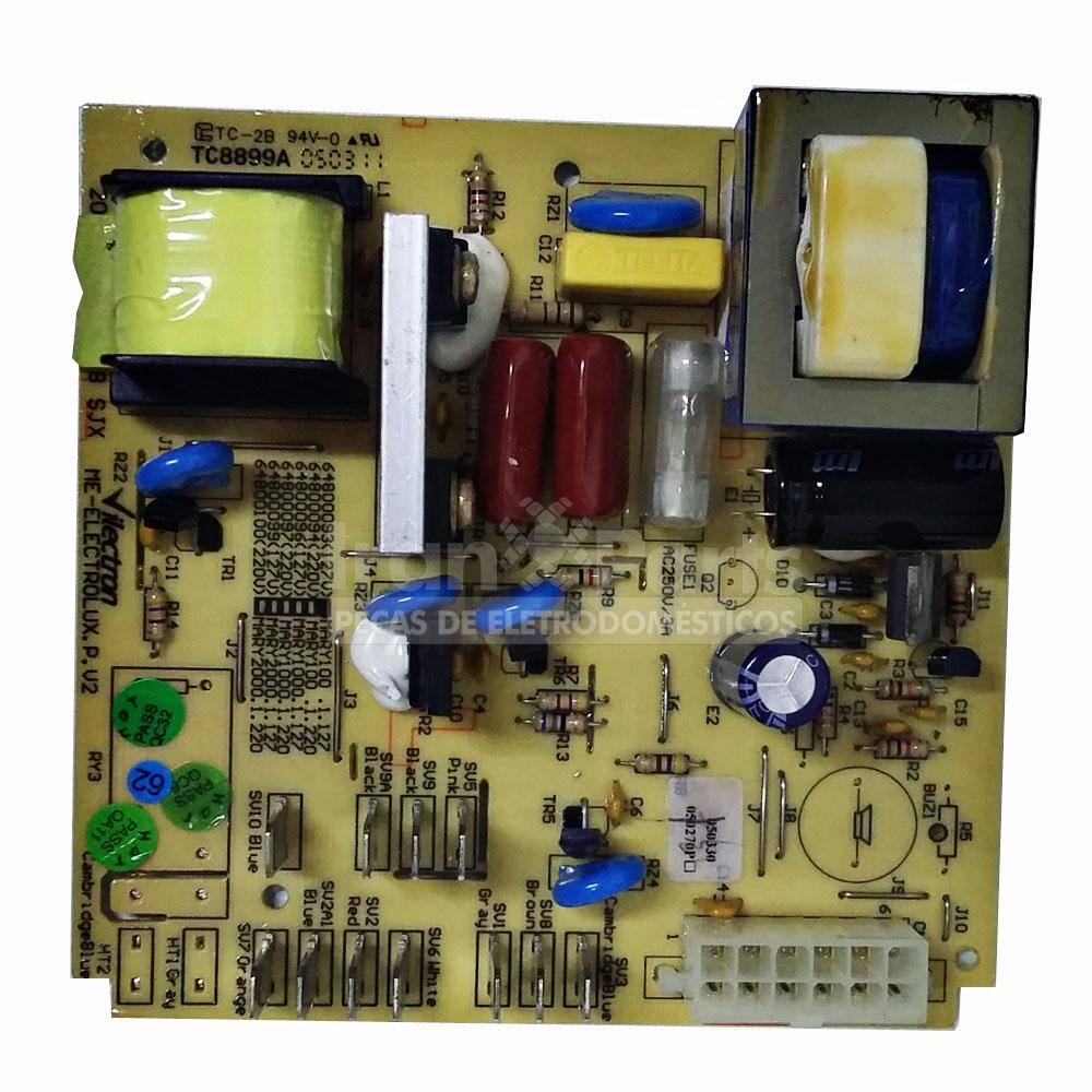 Placa Inferior Vilectron Electrolux 127V Ew22