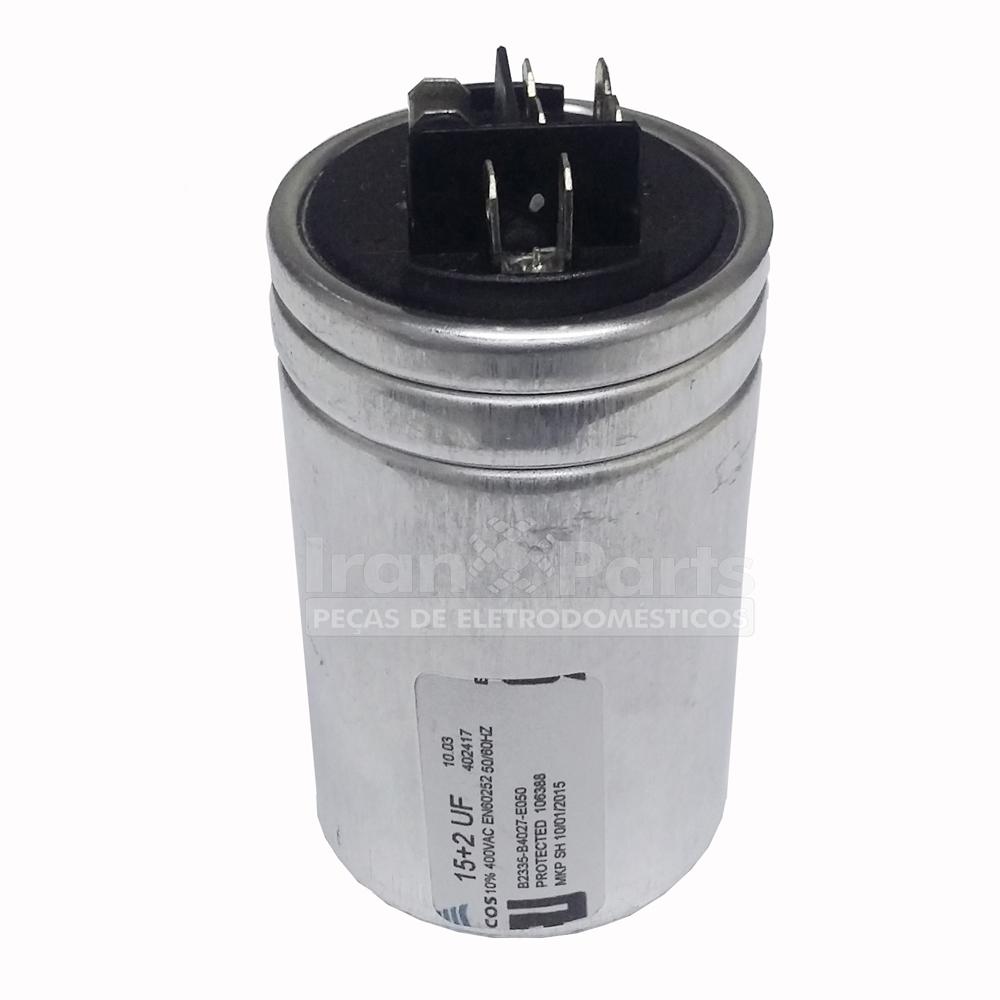Capacitador Ar Condicionado 15 + 5Uf X 380Vac