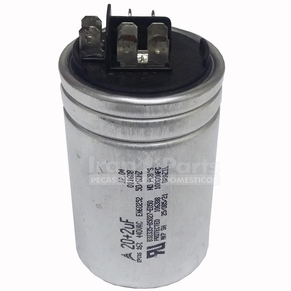 Capacitador Ar Condicionado 20+2Uf X 440Vac