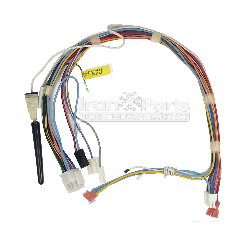 REDE ELETRICA REFRIGERADOR SIDE BY SIDE ELECTROLUX SS76