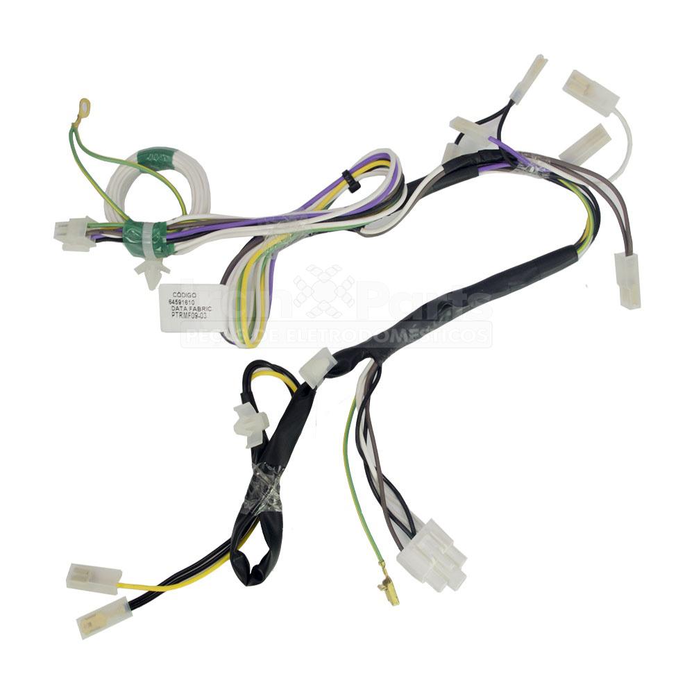 Rede Elétrica Lavadora  Ew110Gvcw Lrt10 Original 64591610