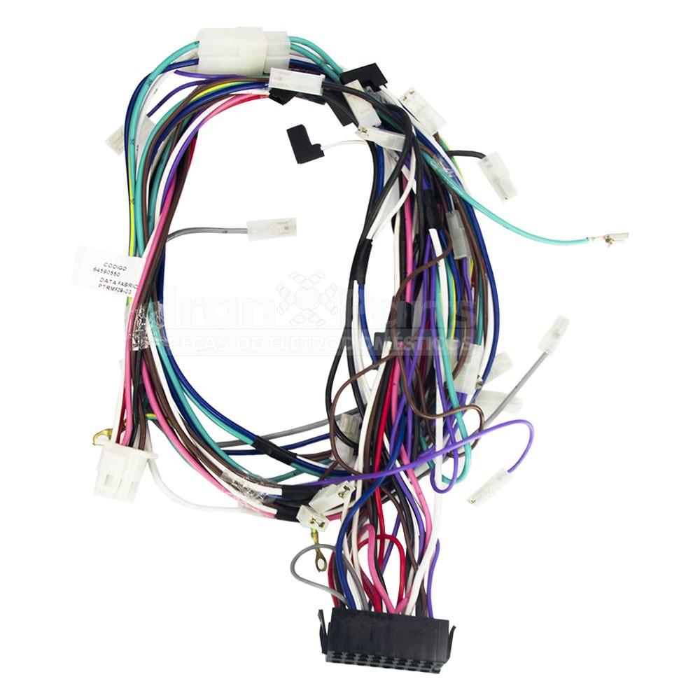 Rede Eletrica Lavadora Le08A Lm08A Original 64590550
