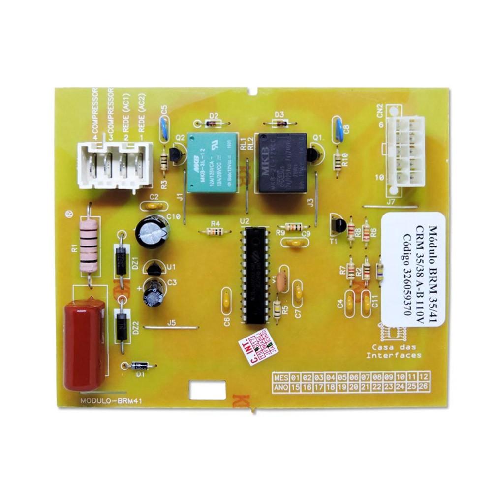 Placa Potência 127v Compatível Refrigerador Brastemp Consul BRM36