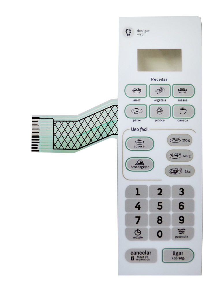 Membrana Compatível Forno Microondas Consul Cma20
