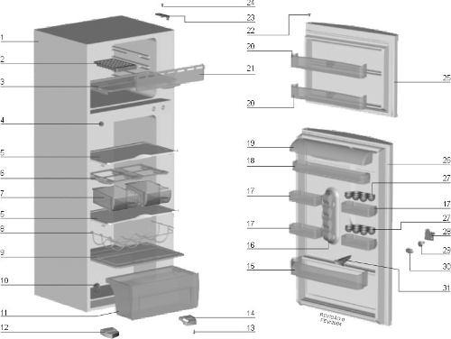 Prateleira Refrigerador Electrolux Df36 - 77491129