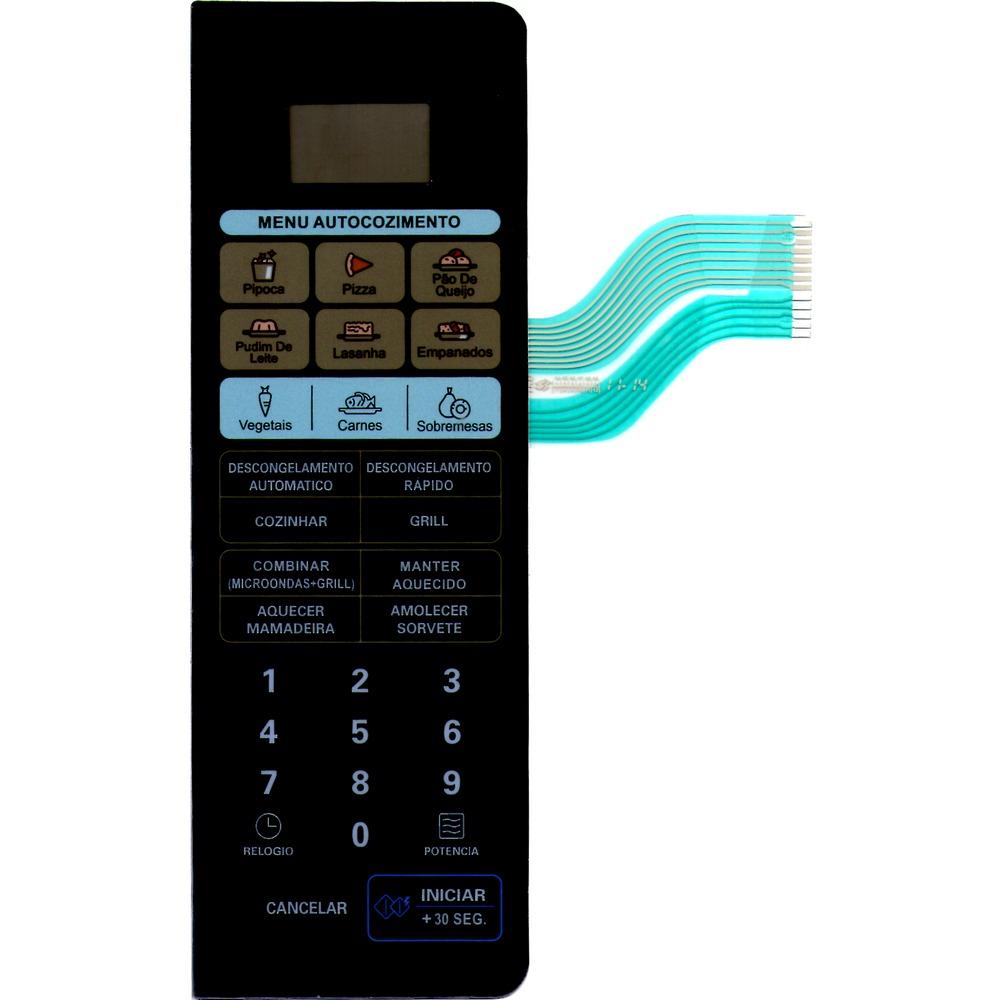 Membrana Forno Microondas Lg Mh 8048Ap Espelhado