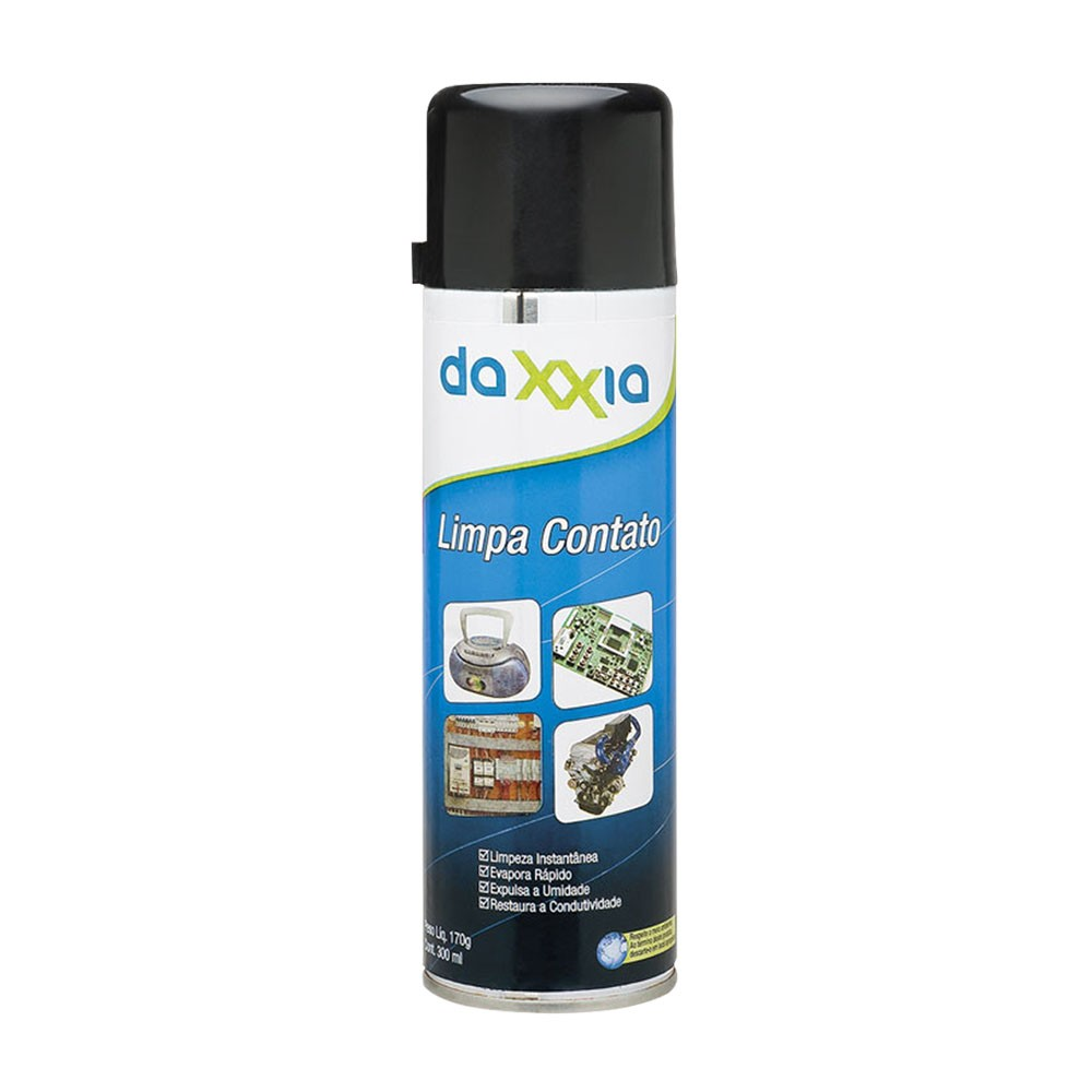 Limpa Contato Aerosol Spray 170g - 300ml Daxxia